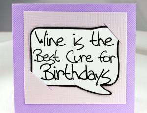 Funny Birthday Card. Happy Birthday Card. Wine Lover Birthday Gift ...