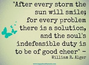 William R Alger #quote