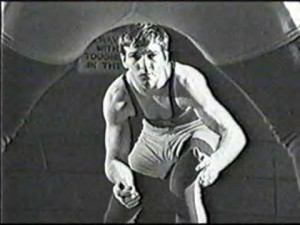Dan Gable was once in the same position as Cael Sanderson --