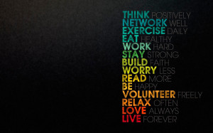 Famous Quote Of Think Positively