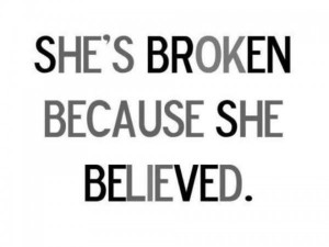 Quotes about broken trust 15
