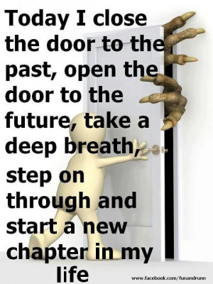 Leave the past behind