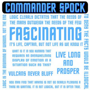Spock Logic Quotes
