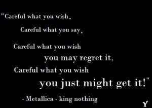 Metallica Quotes From Songs Metallica quotes
