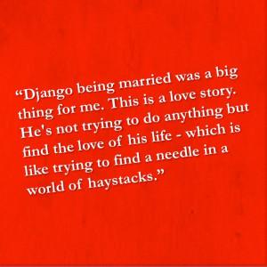 an interview with Empire Magazine, star Jamie Foxx called Django ...