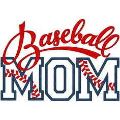 digital baseball quote images | Sayings (A1291) Baseball Mom Applique ...