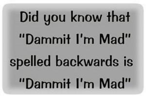 Palindromes! Wouldn't ya know!
