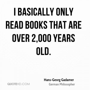 Hans-Georg Gadamer Quotes