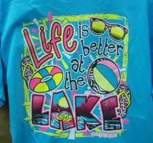 Life at Lake, T-Shirt