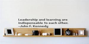 John-F-Kennedy-Quote-Vinyl-Wall-Decal-Leadership-Sticker-22-x5-Q277