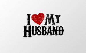 Love My Husband Papel de Parede Imagem