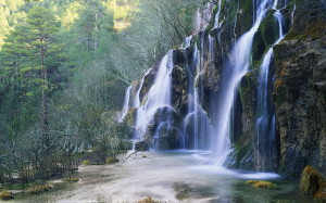 Fonds d 39 cran cascades ruisseaux