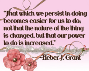 Heber J. Grant poster,