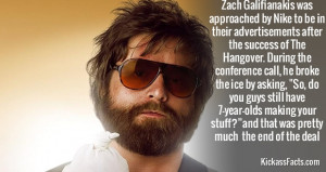 Zach, Galifianakis, Nike, quote