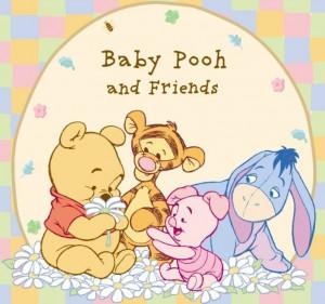 Baby Pooh pooh bear