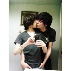 gay couple | Tumblr liked on Polyvore
