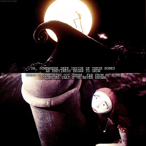 Jack Skellington And Sally Love Quotes