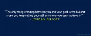 Jordan Belfort Quote