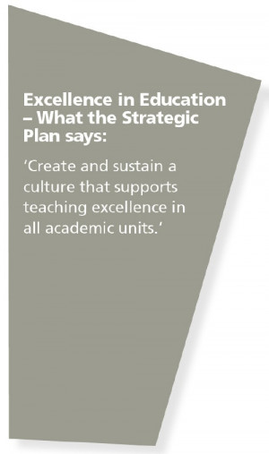 Excellence in Education What the Strategic Plan says: Create and ...