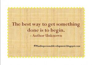 Quotes to Avoid Procrastination