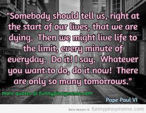 pope paul VI quote