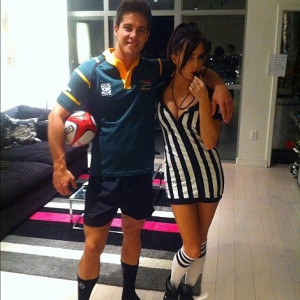 Dean Geyer & Jillian Murray on Halloween 2012