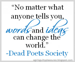 Quote of the Day: Dead Poets Society