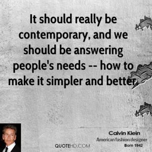 Calvin Klein Quotes
