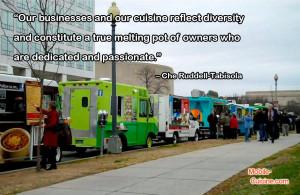 Che Ruddell Tabisola Food Truck Quote