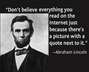 Is That Internet Quote Real?