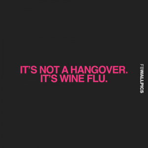 Funny Hangover Quotes From The