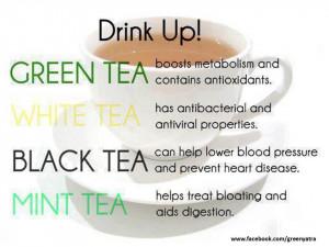 Health benefits of tea ,green tea,white tea,black tea,mint tea,health ...