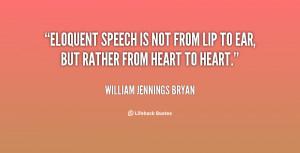 Speech Quotes Noblequotes
