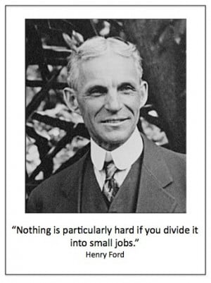 Henry ford, quotes, sayings, small jobs, famous, business
