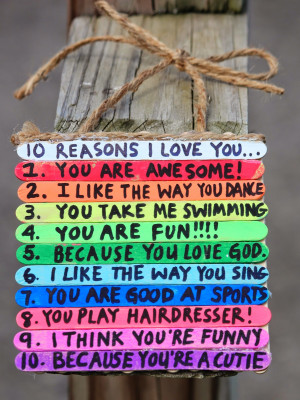 love you here are 10 reasons why lilah loves her daddy my favorite is ...