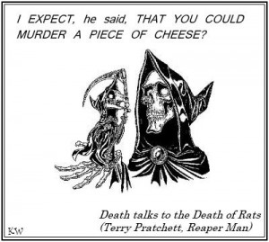 Cheese. Discworld quote by Sir Terry Pratchett. Artist Unknown. by Kim ...