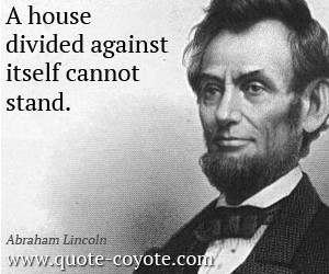 house quotes , divided quotes , wisdom quotes , inspirational quotes