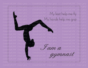 Motivational Quotes Gymnastics...
