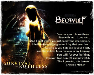 Beowulf summary quotes