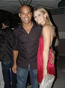 2008 - 2009 - with Amaury Nolasco in Portorico for New Year's Eve