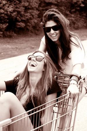 friend, bff, black and white, blonde, brunette, friend, friendship ...