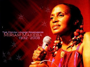 Miriam Makeba, nicknamed Mama Afrika, was a Grammy Award-winning South ...