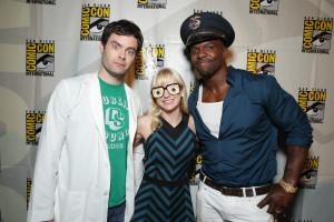 Comic-Con: Bill Hader, Anna Faris, Terry Crews, and Directors Cody ...
