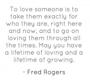 Mr. Rogers was the best. And Mrs. Rogers helped him learn this (she ...
