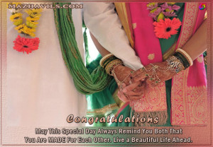 in Blog |Comments (0)| Email this | Tags : Marathi wedding wishes