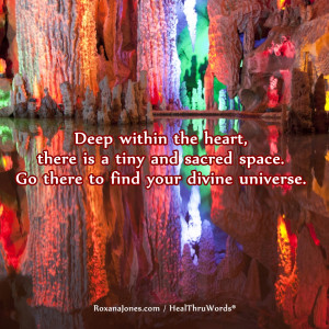 Inspirational Image: The Sacred Space of the Heart