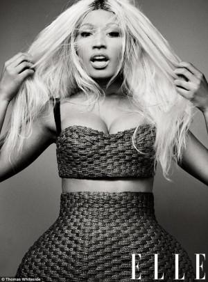 Nicki Minaj in Elle Mag: Her look, Her beefs, and being a Boss!