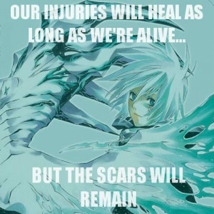 Anime Quote, I have learned a lot of life lessons from anime.