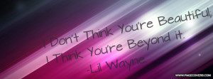 Lil Wayne Quote Facebook Cover