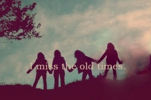 Miss The Old Times Sign by DoraemonFan